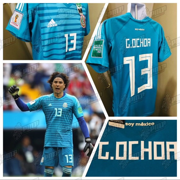 finest selection 761ce bbb24 🚨 Mexico Ochoa #13 Soccer Jersey France World Cup NWT